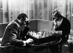 Bela Lugosi and Boris Karloff - The Black Cat