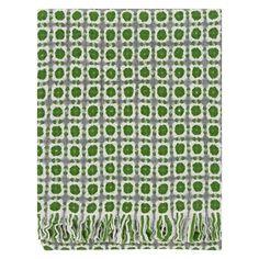 Vlnená deka Corona 130x170, zelená