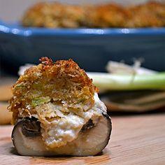 Mushrooms, Stuffed mushrooms and Kitchens on Pinterest