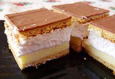 16 gyönyörűszép karácsonyi krémes Vanilla Cake, Tiramisu, Cheesecake, Dessert Recipes, Food And Drink, Cooking Recipes, Sweets, Snacks, Cookies