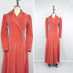 vintage 1930s princess coat / full length by LivingThreadsVintage, $548.00