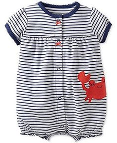 90f260a4a Carter s Plaid Crab Sunsuit Romper 6 Months Carter s http   www ...