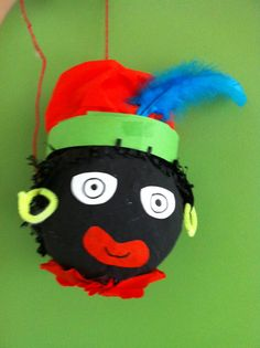 Zwarte piet: ballon