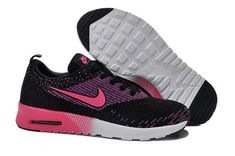 factory price ae332 15c73 Buy Womens Nike Air Max Thea Flyknit Running Shoes Black Pink TopDeals from  Reliable Womens Nike Air Max Thea Flyknit Running Shoes Black Pink TopDeals  ...