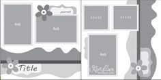 I am early this week! It's waaaaaaay before Sunday night ;) Here is Kiwi Lane's . - I am early this week! It's waaaaaaay before Sunday night ;] Here is Kiwi Lane's DT Doodle sk - Scrapbook Layout Sketches, Scrapbook Templates, Card Sketches, Scrapbooking Layouts, Scrapbook Borders, Kiwi Lane Designs, School Scrapbook, Scrapbook Pages, Vintage Birthday Cards