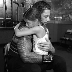 Roman Reigns & Daughter