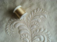 """Blog for Diane Gaudynski - she does intricate designs and gets that """"puffed"""" look on her fabrics"""