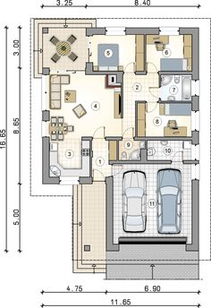 Dream House Plans, Modern House Plans, My Dream Home, My Home Design, Plan Design, House Design, Architecture Graphics, Modern Architecture, Circle House