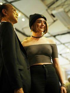 Maisie Williams see-thru