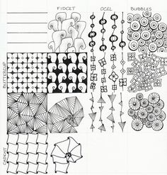 98 Best Zentangle: Samplers Patterns images in 2017