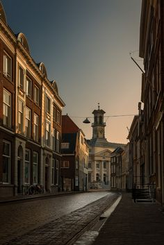 Dutch light in Dordrecht. The Netherlands