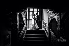 Staircase photography - country house wedding photography – country garden wedding photography - tom halliday photography - uk wedding photography - landscape photography