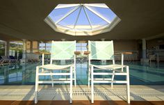 The swimming-pool @ Ibis Hyères Plage Thalassa #CoteDAzur #France