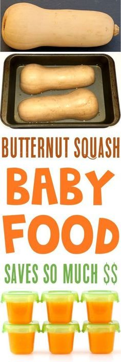 Homemade Baby Food Stage 1 Recipes! How to Make Butternut Squash and Storage Tips for Baby's Food!