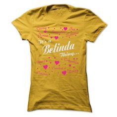 BELINDA THING AWESOME SHIRT - #tee party #hoodie for girls. PURCHASE NOW => https://www.sunfrog.com/LifeStyle/BELINDA-THING-AWESOME-SHIRT-Ladies.html?68278