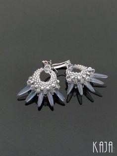Earrings by Karolína Emingrová