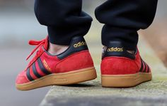 """adidas Spezial """"Red, Black & Gum"""""""
