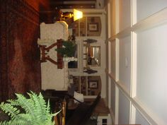Love the coffered ceiling!  www.mrsfixit.com