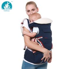 Luxury 9 in 1 Baby Carrier Ergonomic Carrier Backpack Hipseat for newborn and prevent o-type legs sling Baby Kangaroos new bornBrand Name: GabesyAge Range: monthsAge Range: 2 years UpAge Rang. Baby Rucksack, Sling Backpack, Backpack Straps, Baby Holder, Kangaroo Baby, Ergonomic Baby Carrier, Sling Carrier, Best Baby Carrier, 3d Mesh