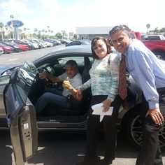 Thanks 4 your purchase Antonio & Carmen!  #Mustang #Shelby Call Miguel in #Miami 786.970.3792 #BestDealEver