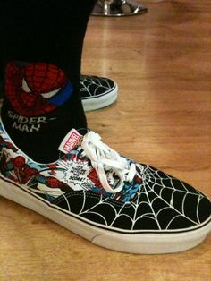 I got these vans yesterday -dallas Webber Marvel Shoes, Marvel Clothes, Painted Sneakers, Hand Painted Shoes, Nike Air Shoes, Vans Shoes, Custom Vans, Custom Shoes, Dc Clothing