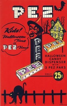 Take my hand and travel back again to another round of 94 vintage Halloween advertisements from season's past. Swing by Vintage Halloween Retro Halloween, Spooky Halloween, Vintage Halloween Cards, Halloween Trick Or Treat, Vintage Holiday, Holidays Halloween, Happy Halloween, Halloween Decorations, Halloween Stuff