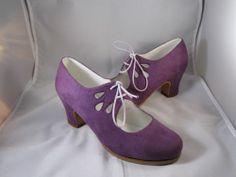 Flamenco Shoes Professionals brand new Euro size36.5 around US 6.5 purple
