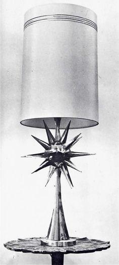 Lámpara y mesa de Pepe Mendoza, México DF nd    Lamp and Table by Pepe Mendoza