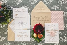 Figs & Gold Wedding Inspiration  Read more - http://www.stylemepretty.com/2014/01/30/figs-gold-wedding-inspiration/