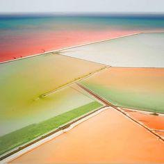 Colours super chilled.  'Saltern Study 06' by @david_burdeny.  #greatsaltlake via @ignant @SUBFOLDR