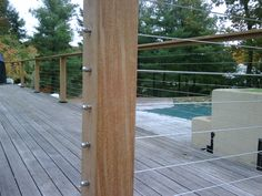 Cable deck railing using Home Depot stuff by priscilla | Deck ...