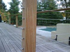 Porch railing idea