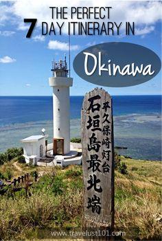Okinawa   Okinawa Japan   Okinawa Travel   The Perfect 7-Day Itinerary to Discover Japan's Paradise #okinawa #okinawajapan #japantraveldestinations #okinawatravel