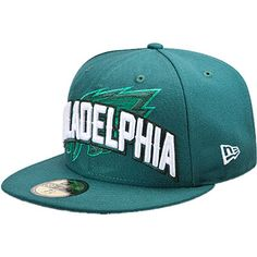 Eagles Youth Green New Era 59FIFTY 2012 Draft Fitted Hat.  24.99 Eagles Nfl  c4acfc759