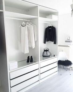 Create More Space in Your Homes With Ikea Pax Closet Kids Bedroom Storage, Bedroom Closet Design, Bedroom Wardrobe, Closet Designs, Interior Design Living Room, Bedroom Kids, Storage Room, Diy Bedroom, Bedroom Inspo