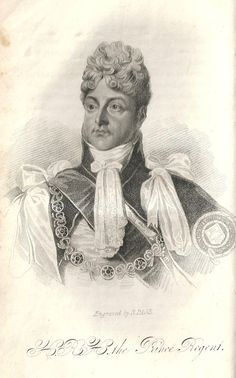 "The Prince Regent from ""The Life of Princess Charlotte"""