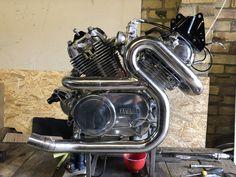 Virago Bobber, Virago Cafe Racer, Cafe Racer Moto, Custom Cafe Racer, Cafe Racer Bikes, Bobber Chopper, Cafe Racers, Motorcycle Engine, Ducati