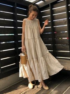 Stylish Dresses, Simple Dresses, Cute Dresses, Casual Dresses, Long Summer Dresses, Mode Outfits, Dress Outfits, Modest Fashion, Fashion Dresses
