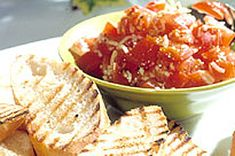 If you love bruschetta, then you'd better fire up the barbecue and check out our Fresh Tomato & Herb Bruschetta appetizer. Grilled bread and tasty tomatoes make this bruschetta a surefire Friday night hit. Fresh Tomato Sauce Recipe, Barbecue, Cooking Tips, Cooking Recipes, Chicken Parmigiana, Grilled Bread, Mozzarella Chicken, Fresh Salsa, Surefire