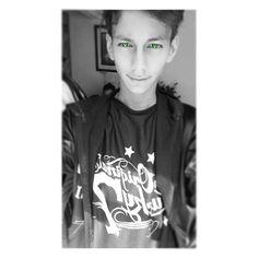 #luisguzman014 #greeneyes #green #whiteandblack #photo