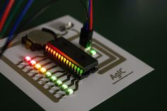AgIC wants you to print electronic circuits at home using silver nanoparticle ink