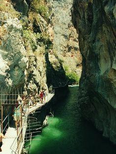 Saklıkent Canyon Fethiye, Turkey
