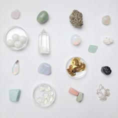 a dreamy mineral collection