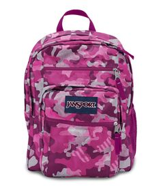 STAINS JanSport Big Student Backpack School Briefcase Blue Streak Free S//H