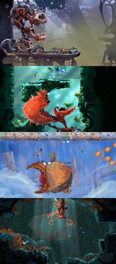 Rayman Origins - Bosses