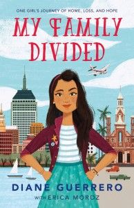 Favorite Hispanic Heritage Month children's books: My Family Divided by Diane Guerrero - you may know her from Orange is the New Black, and her story is both painful and inspiring. Teacher List, Hispanic Heritage Month, Orange Is The New Black, Ya Books, Chapter Books, First Girl, My Family, Tween, Childrens Books