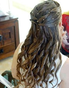 I want my hair like this for my wedding <3