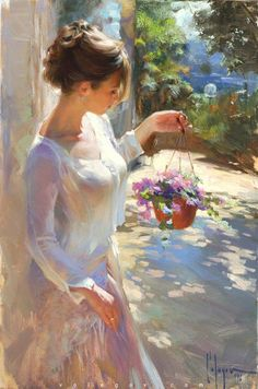 Delicate and Sensual Classical Portrait Compositions By Russian Artist Vladimir Volegov