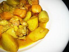 LAS RECETAS DE MAMA ROSA: Chocos con alcachofas, habas y patatas