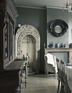 Grey interior.